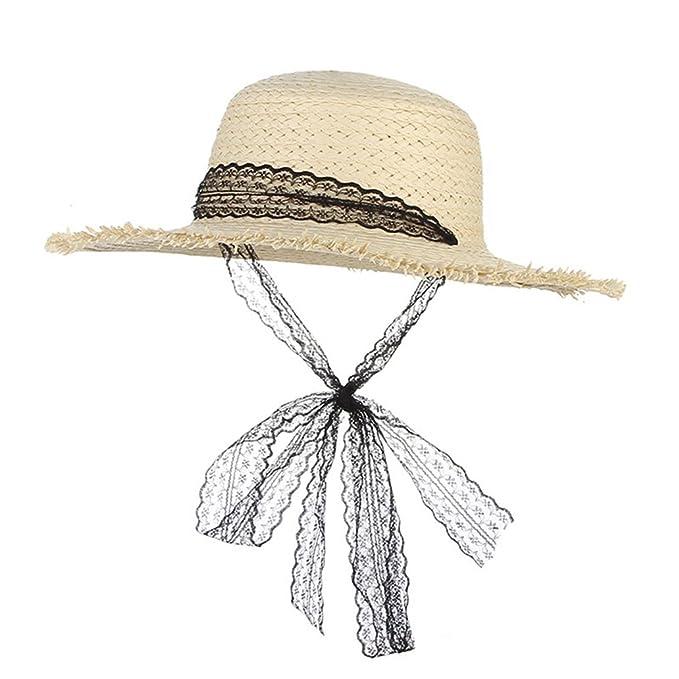 de0803813a37 August Jim Sombreros de Paja de Verano para Mujer al Aire última ...