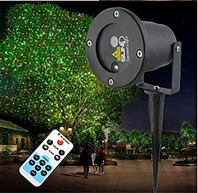 Xingyue Mythology Christmas Projector Led Outdoor Waterproof Lawn Lamp Holiday Gift Mall Decorative Lights , B