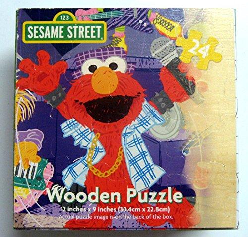Sesame Street 24 Piece Wooden Birthday