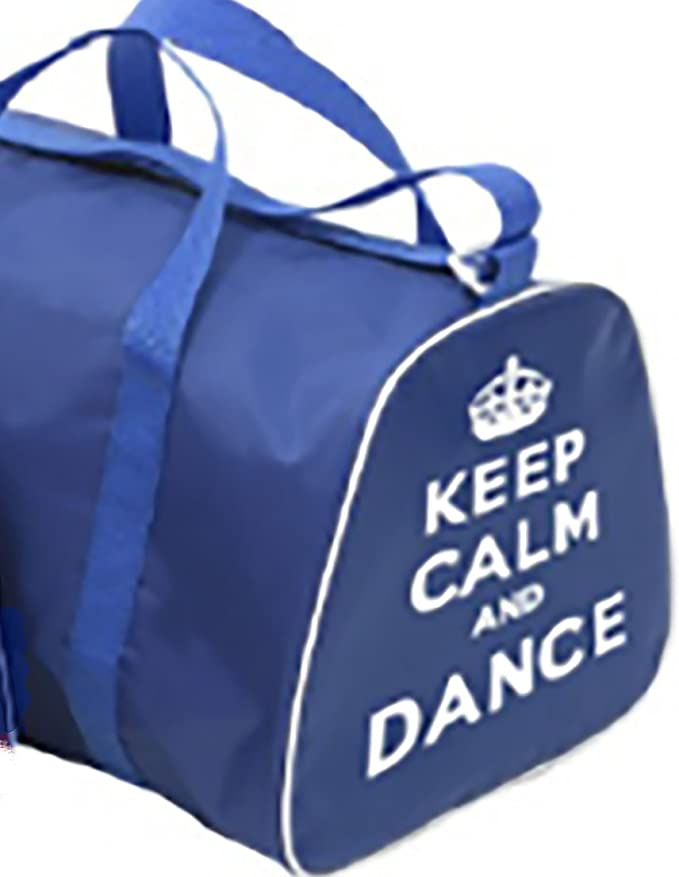 KEEP CALM AND DANCE Holdall Bag for dancer in Pink, Red, Black or Blue  (Black - Keep Calm and Dance)  Amazon.co.uk  Clothing c4bf0effbf