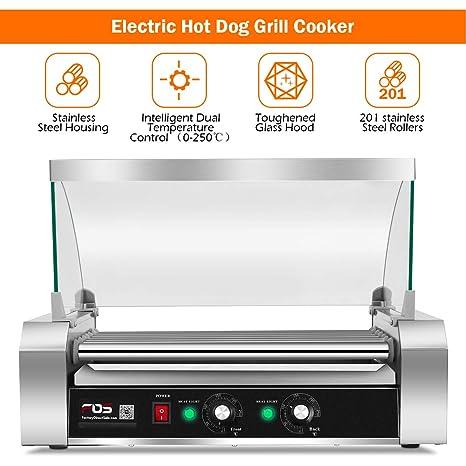 Amazon.com: Giantex Commercial 18/30 Hot Dog Hotdog 7/11 ...