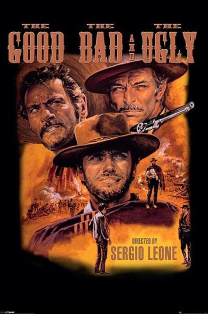 Pyramid America The Good the Bad and the Ugly Movie Poster 24x36 inch