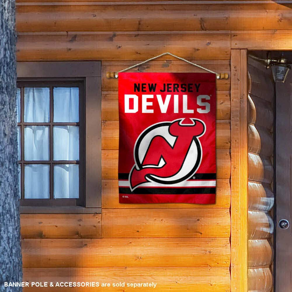WinCraft New Jersey Devils Double Sided Banner House Flag