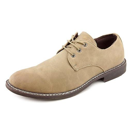 UNLISTED Rule Party - Mocasines de sintético para hombre Beige arena, color Beige, talla 42.5: Amazon.es: Zapatos y complementos