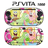 Decorative Video Game Skin Decal Cover Sticker for Sony PlayStation PS Vita (PCH-1000) - Spongebob Squarepants Patrick