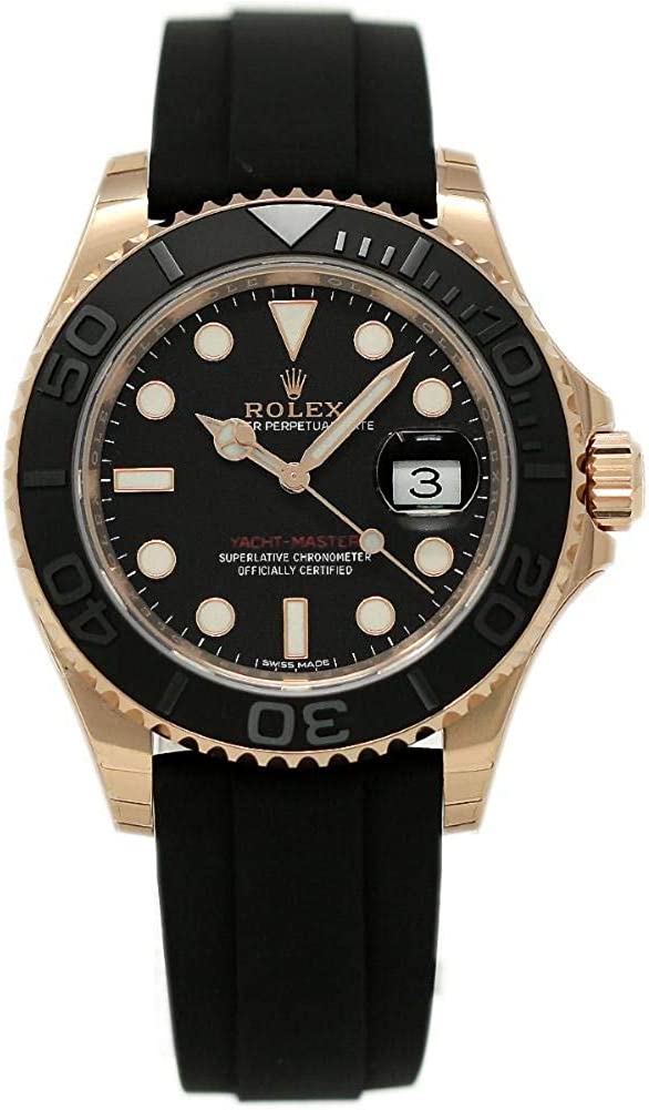 Rolex Yacht-Master Swiss-Automatic Male Watch 116655 (Certified Pre-Owned)