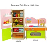 18 inch doll furniture amazing green and pink kitchen combo