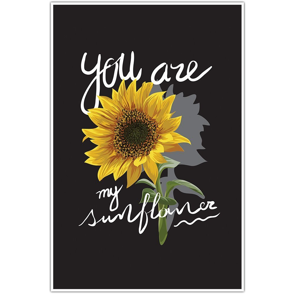 You Are My Sunflower Wall Art