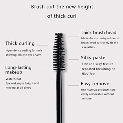 Amazon.com : 4D Mascara Uccdo Eye Makeup Waterproof Long Lasting Black Thickness Extension Cosmetic(A1) : Beauty