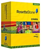 Rosetta Stone Homeschool Spanish (Spain) Level 1 including Audio Companion