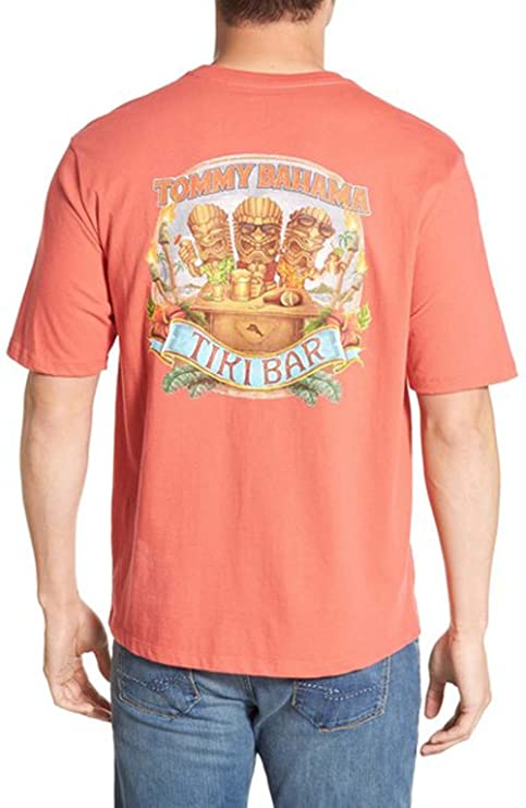 45a8d21e Image Unavailable. Image not available for. Color: Tommy Bahama Tiki Bar  Medium Acapulco T-Shirt