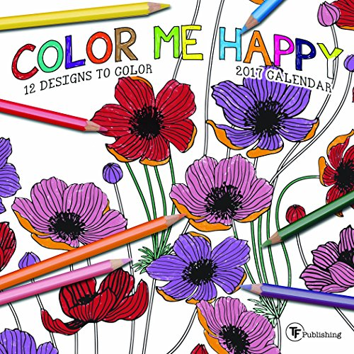 2017 Color Me Happy Mini Calendar