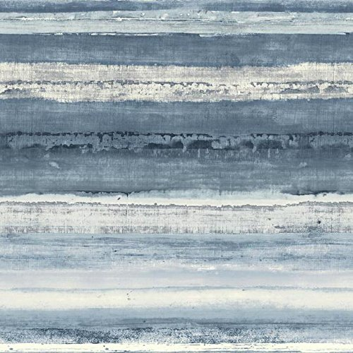 York Wallcoverings NN7244 Cloud Nine Perspective Removable Wallpaper, Blue