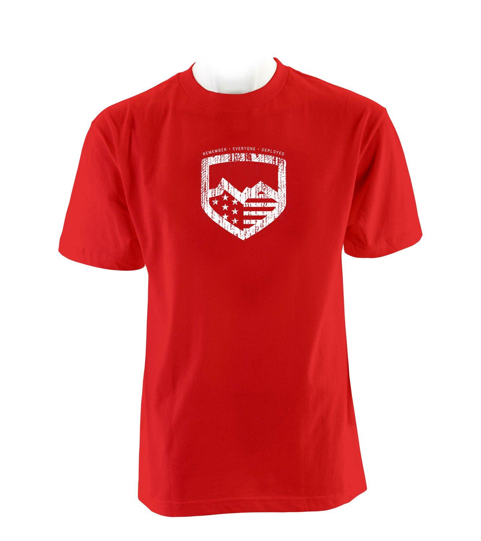 Teraflex 5218721 Red T-Shirt Friday R.E.D Mens Large