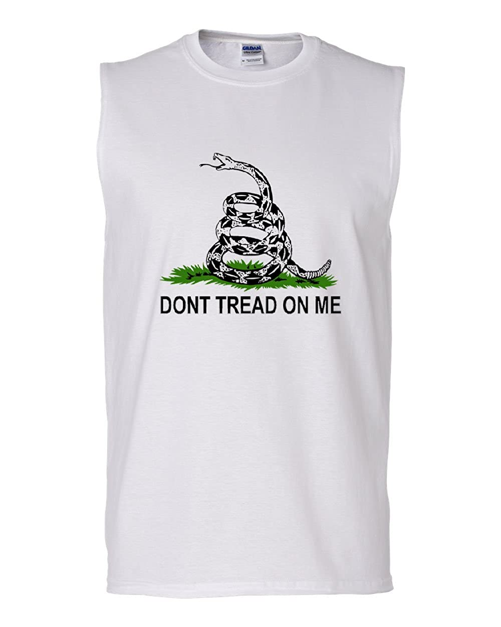 Dont Tread On Me Muscle Shirt Gadsden Flag Rattle Snake