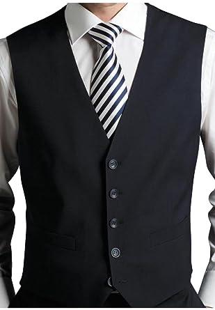 Gilet de qualité habillé noir pour homme pour serveur/personnel/fête de  mariage,