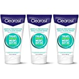 Clearasil Daily Clear Acne Face Wash, Hydra-Blast Oil-Free Face Wash, 6.5 Ounce ( Pack of 3)