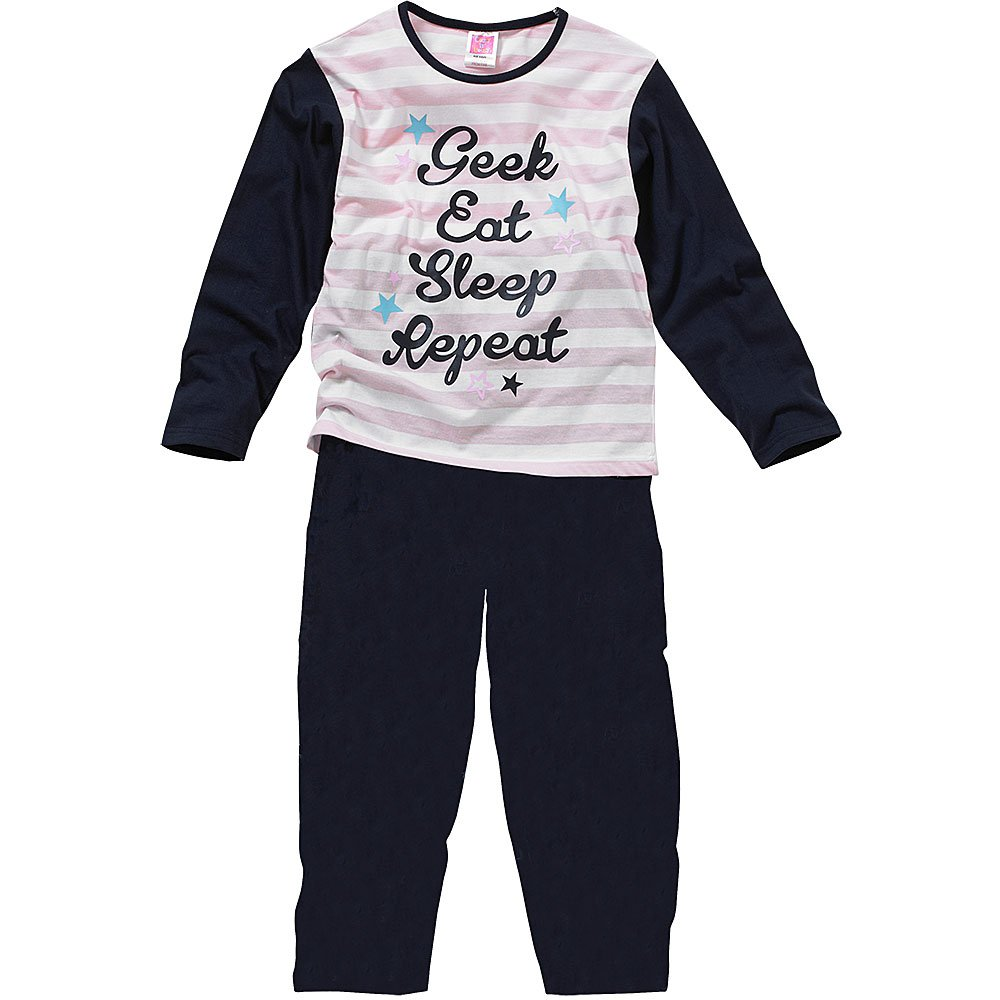 Robo de casas de mezcla de especias n ropa de descanso para niñas gafas con, Eat, de apagado, pijama repetición de: Amazon.es: Ropa y accesorios