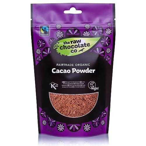 The Raw Chocolate Organic Raw Cacao Powder 180 g (Pack of 3)