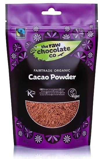 The Raw Chocolate Organic Raw Cacao Powder 180 G Pack Of 3