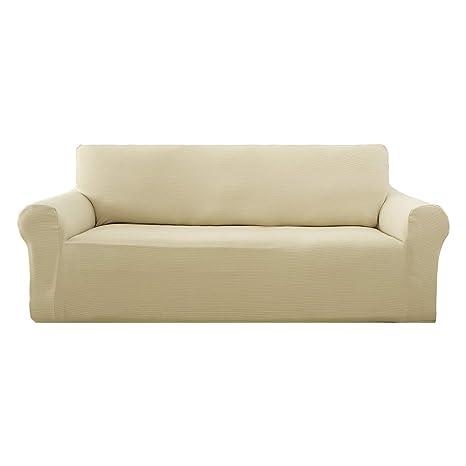 Deconovo - Funda de sofá sin Tirantes para sofá, diseño ...