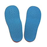 Orthotic Arch Support Flat Foot Flatfoot Correction Foot Pain Relief Shoe Insole for Children Kids L Size