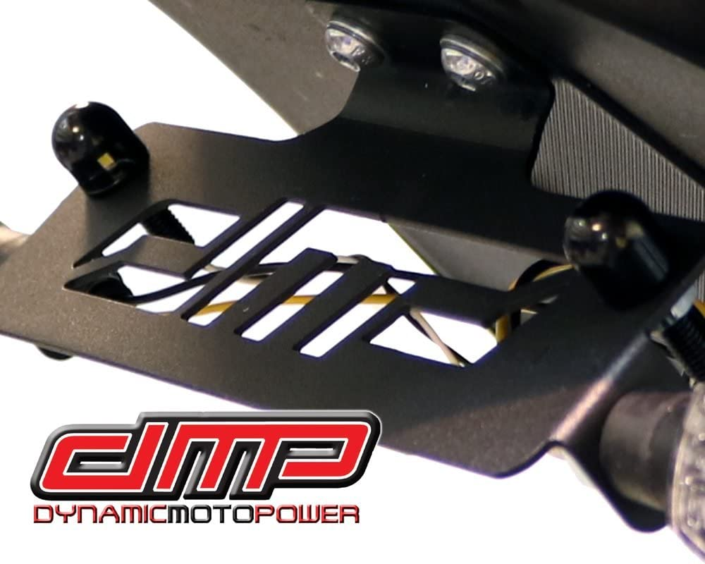 MADE IN THE USA 675-4930 DMP Kawasaki ZX6R ZX6 2009-2012 ZX10R ZX 10 2008-2010 Fender Eliminator Kit Includes Turn Signals and Plate Lights