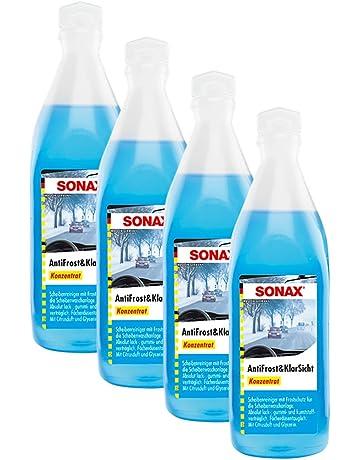SONAX 4 x 03321000 anticongelante (& Transparente Protección contra Heladas Concentrado Citrus Aroma ...