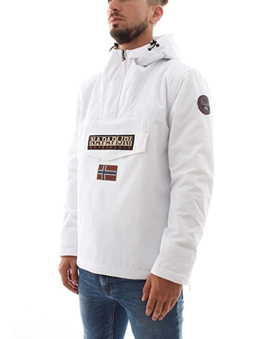 Napapijri Ropa Y Rainforest Hombre bright White Winter Small es Blanco Para 002 Chaqueta Amazon Accesorios X qqdO6w
