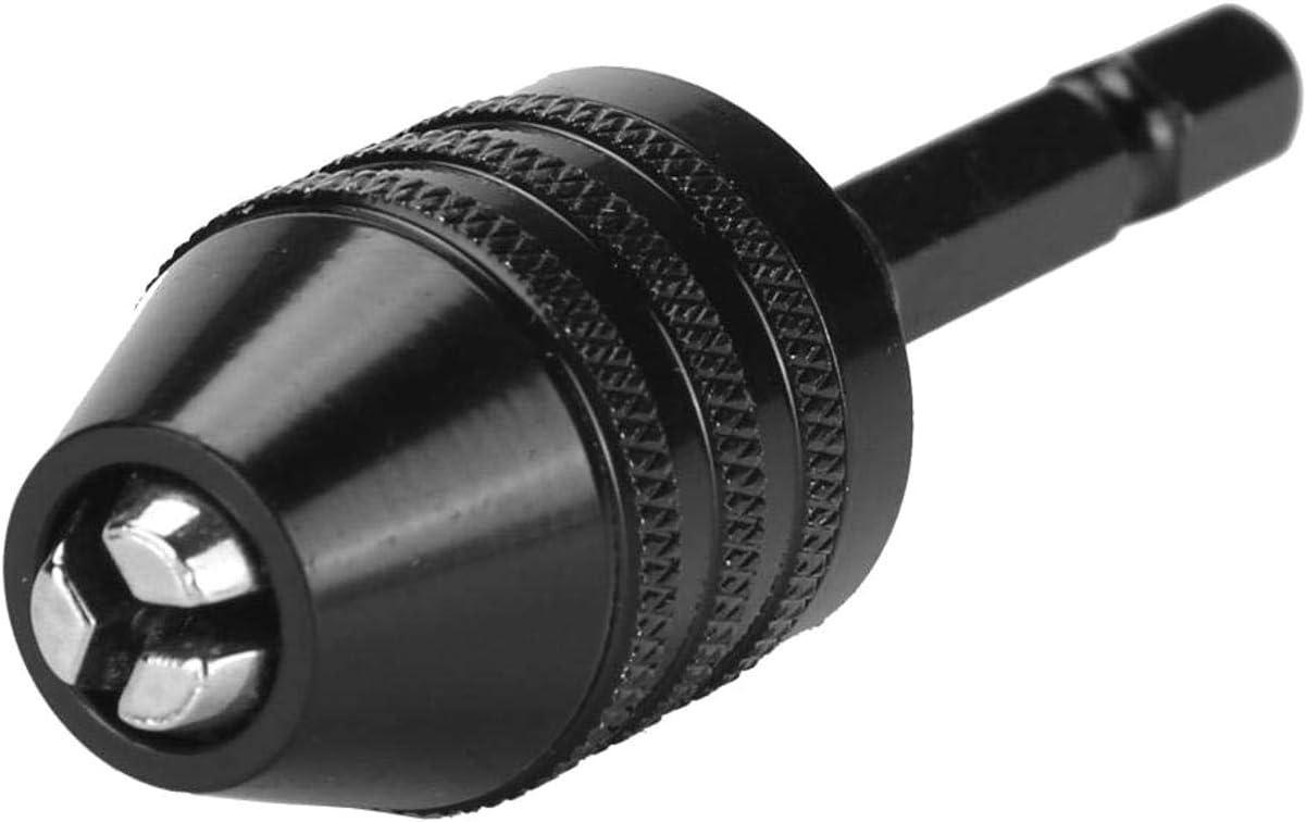 DULALA Bohrfutter Sechskantschaft Elektroschrauber Bohrfutter Adapter Quick Change Converter 6.5mm