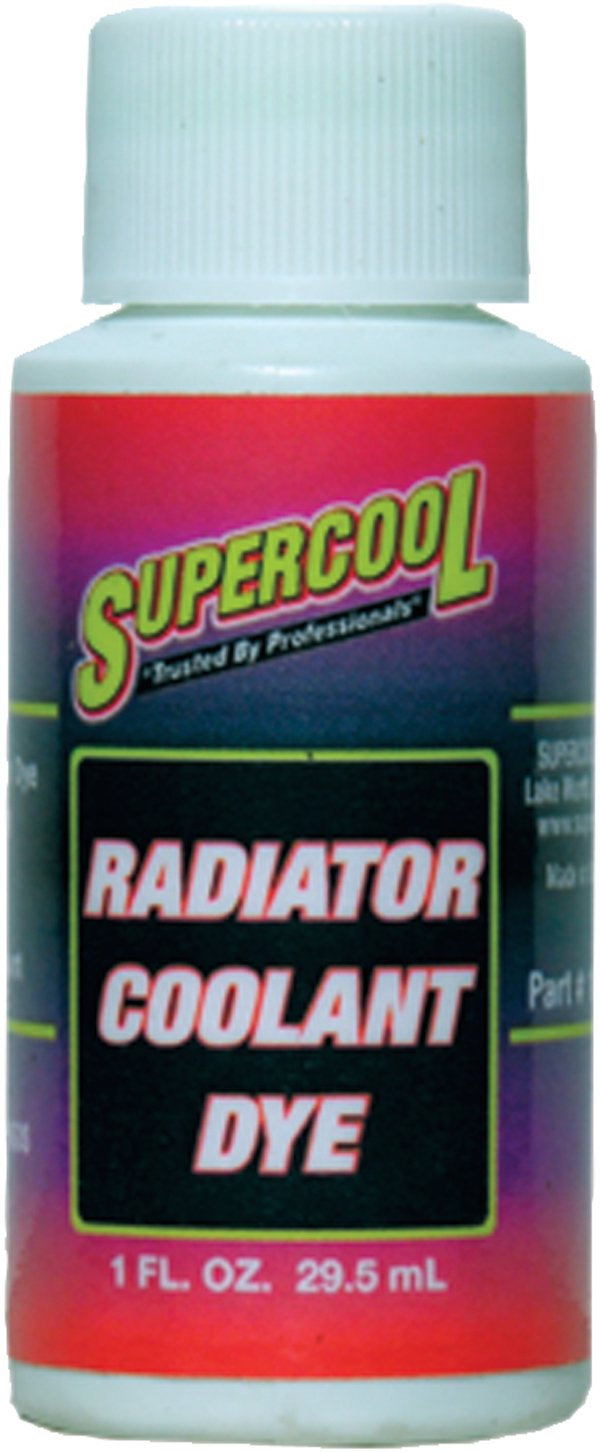 TSI Supercool 16532 Synthetic U/V Leak Detection Dye, 1. Fluid_Ounces