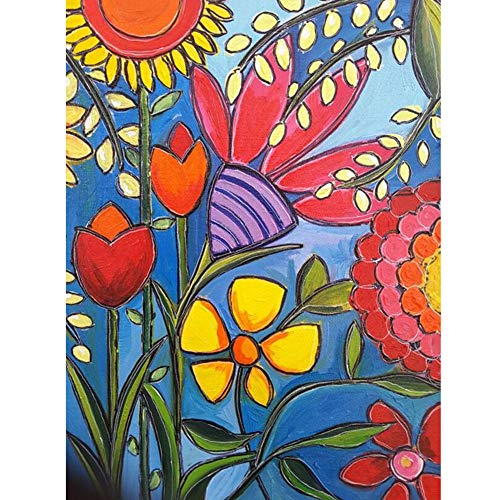 Diamond Painting 5D Full Drill Abstract Flower Pattern