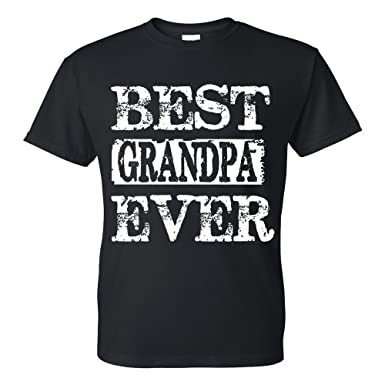 4e3c2a8a6 Amazon.com: fresh tees Best Grandpa Ever T-shirt Father's Day Shirt gifts  for grandpa papa shirt grandpa shirts: Clothing