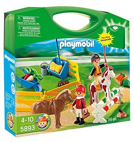 Pony Farm Playmobil - Playmobil Pony Farm Carrying Case Playset