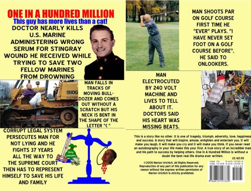 One in a Hundred Million: The Life and Times of Marion Urichich