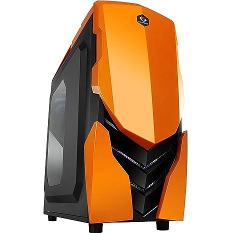 Raidmax Ninja II Torre Negro, Naranja - Caja de Ordenador ...