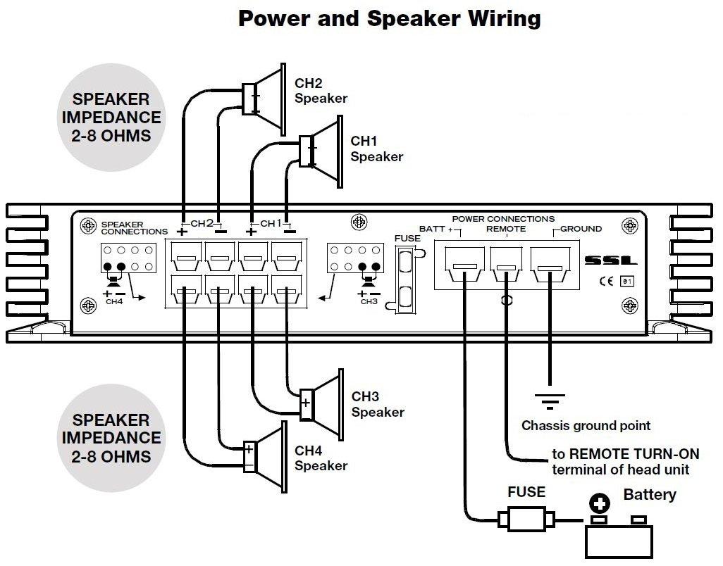 Sound Storm Ev4400 Evolution 400 Watt 4 Channel 2 To Parallel Wiring Speakers Ohms 8 Ohm Stable Class A B Full Range Car Amplifier Soundstorm Electronics