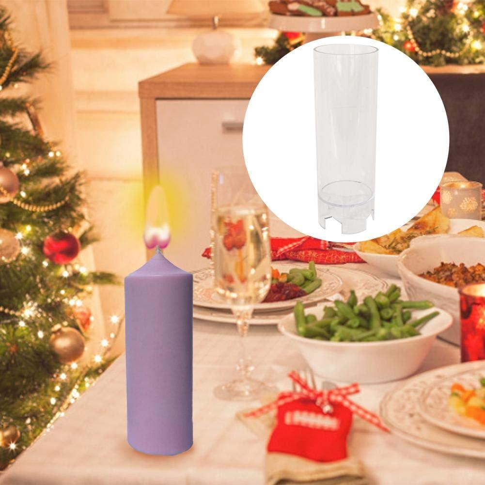 Cuttey Stampi per Candele Stampi per Candele Cilindrici Stampo per Candele in Plastica Fatto A Mano per Matrimonio Compleanno Regalo di Natale Decorazione per Feste Fatta in Casa workable Noble