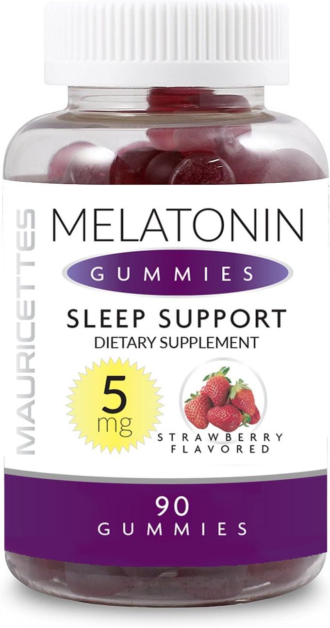 Melatonin Gummies for Kids and Adults Sleep Aid - 5mg Per Serving