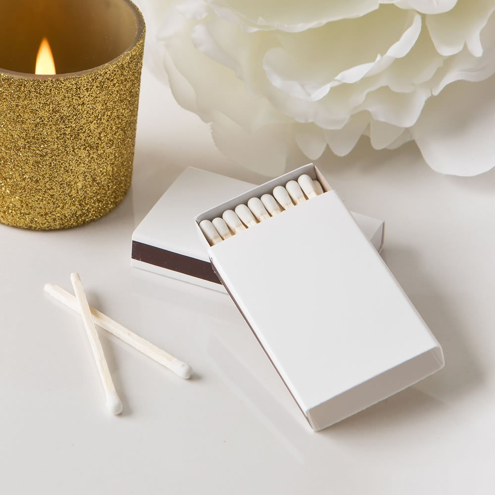 10 Pack of 50 - Perfectly Plain Collection Box Matches