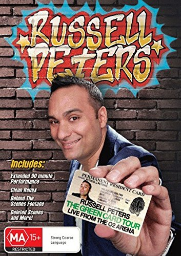 Russell Peters Green Card Tour Live From O2 Arena DVD