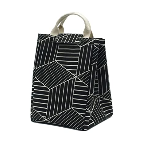 Amazon.com: mmziart reutilizable bolsa de almuerzo, plegable ...