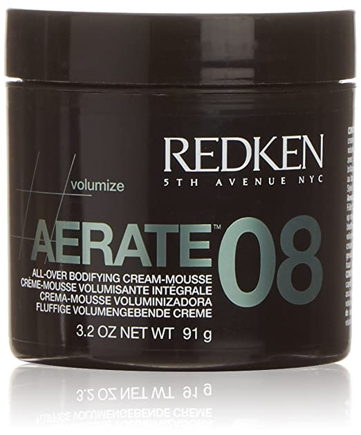 The Best Hair Products For Each Hair Type | Redken Aerate 08 All-Over Bodifying Cream Mousse | Hairstyle on Point
