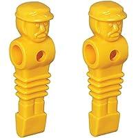 2 Yellow Imperial Replacement Foosball Men