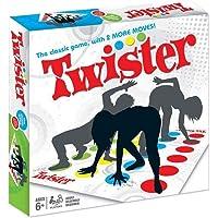 SECARIER Twister Jeux de Société, Jeux de Fête - Jeux de Plateau pour Enfants/Adultes