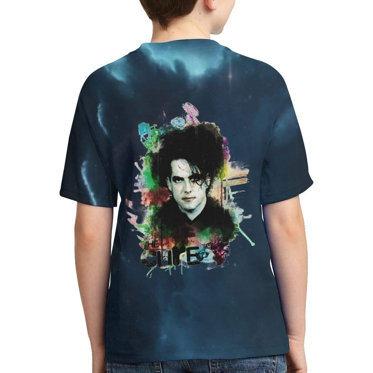 Caiyuzhuanmai Boys,Girls,Youth The Cure T Shirt