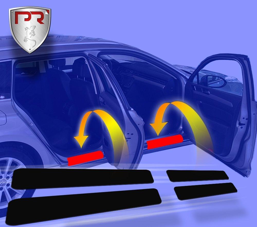 PR Folia Einstiegsleisten - Einstiegschutz Tü reinstiege Einstiege (passend fü r Modell siehe Beschreibung) - Lackschutzfolie fü r Einstiege in Transparent PR-FOLIA