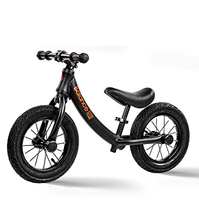 7e2a1447ea2 Kids' Balance Bike, Balance Bike Kids,12 Inch Classic Lightweight No-Pedal  Toddlers Walking Bicycle w/Height Adjustable Seat and Handle, for Children  Boys ...