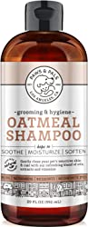 OxGord Natural Oatmeal Dog-Shampoo And Conditioner