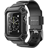 SUPCASE [Unicorn Beetle Pro] Case for Apple Watch 3, Rugged Protective Case with Strap Bands for Apple Watch Series 3…